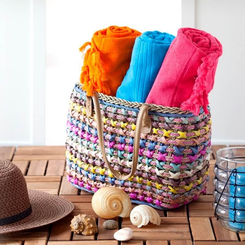cotton double faced towel
