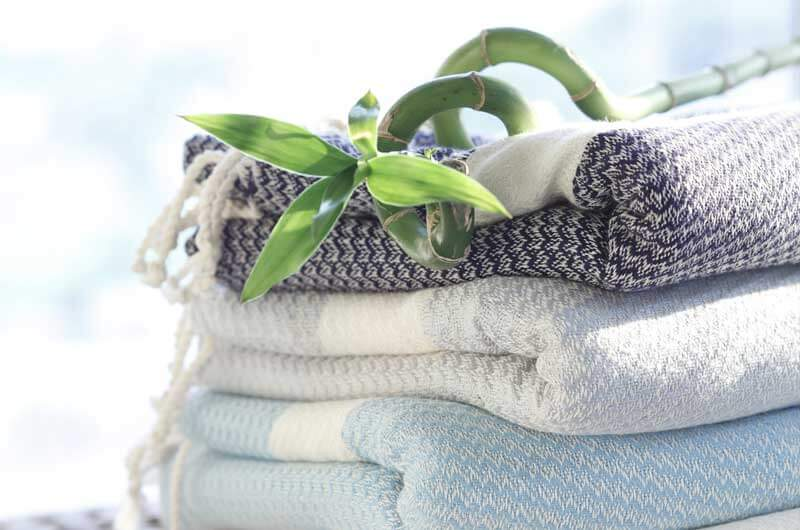 bamboo peshtemal towels