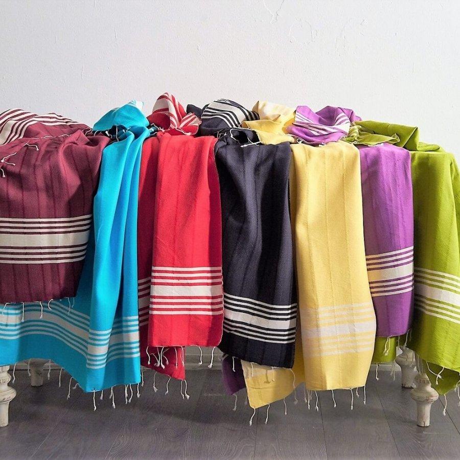 Indigo Cotton Hammam Towels