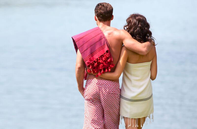 cotton peshtemal beach towel