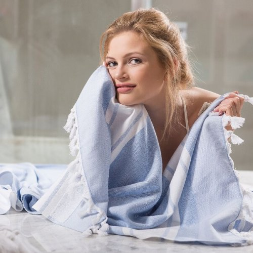 Turkish Hammam Bath Towels