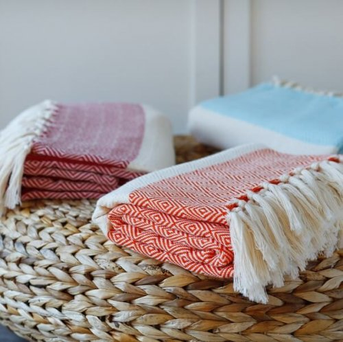 Cotton Hammam Throw