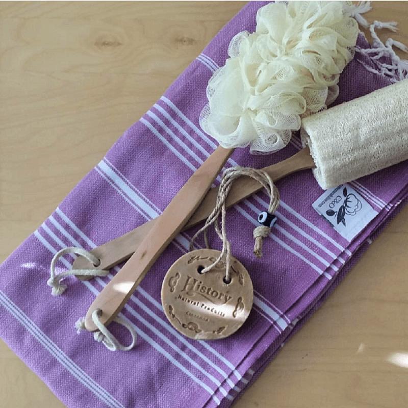 Cotton Hammam Towel, Lavender