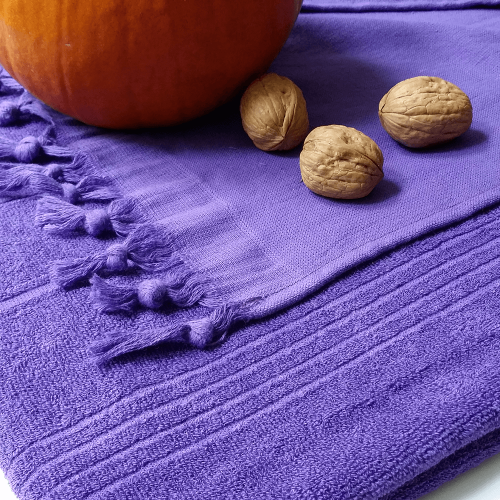 Breezy Hammam Towel, Purple