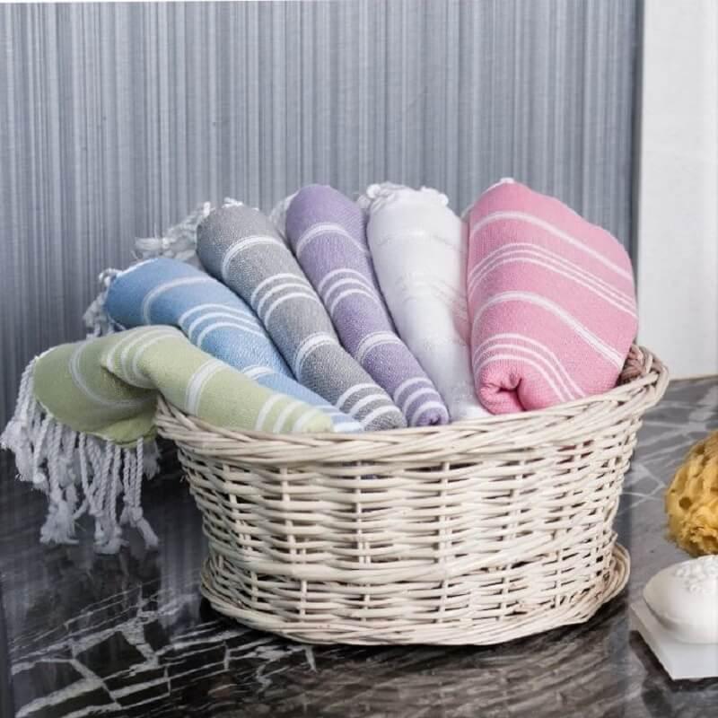 Cotton Hammam Hand Towels
