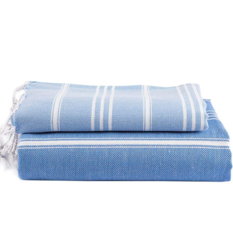 Cotton Hammam Hand Towel, Royal blue