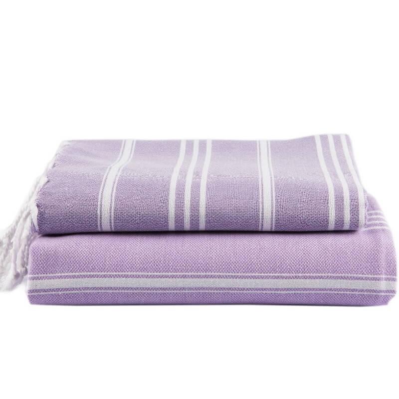 Cotton Hammam Hand Towel, Lavender