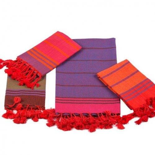 cotton hammam hand towels