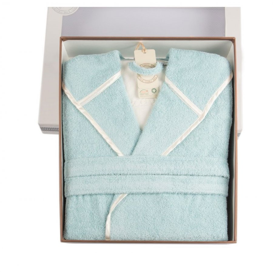organic cotton bathrobe