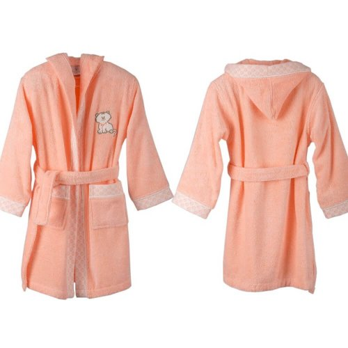 Organic Cotton Kids Bathrobe