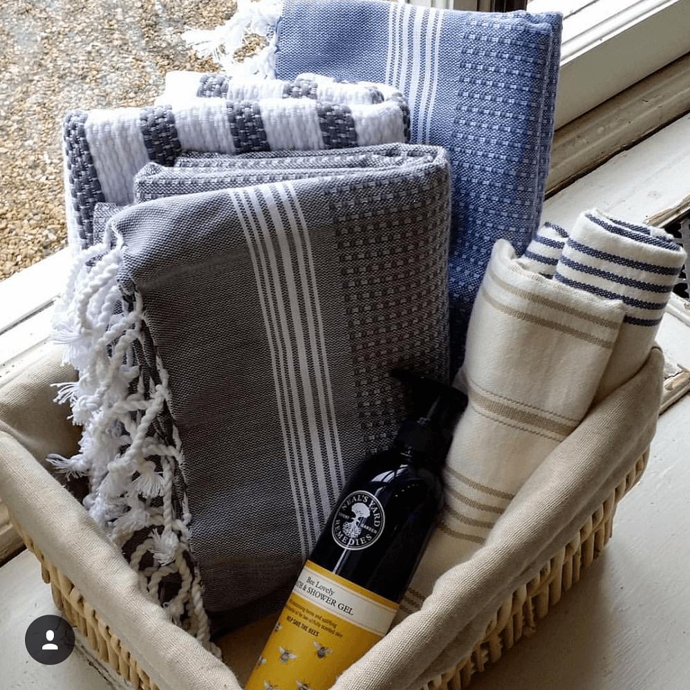 Tuana Lightweight Hammam Bath Towels  7a5a48d4e