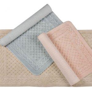 luxurious cotton bath mats