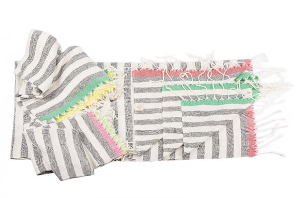 peshtemal travel towels by Cotton and Olive