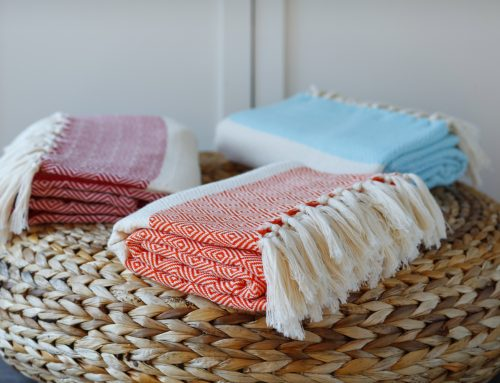 Cotton Throws from Cotton & Olive