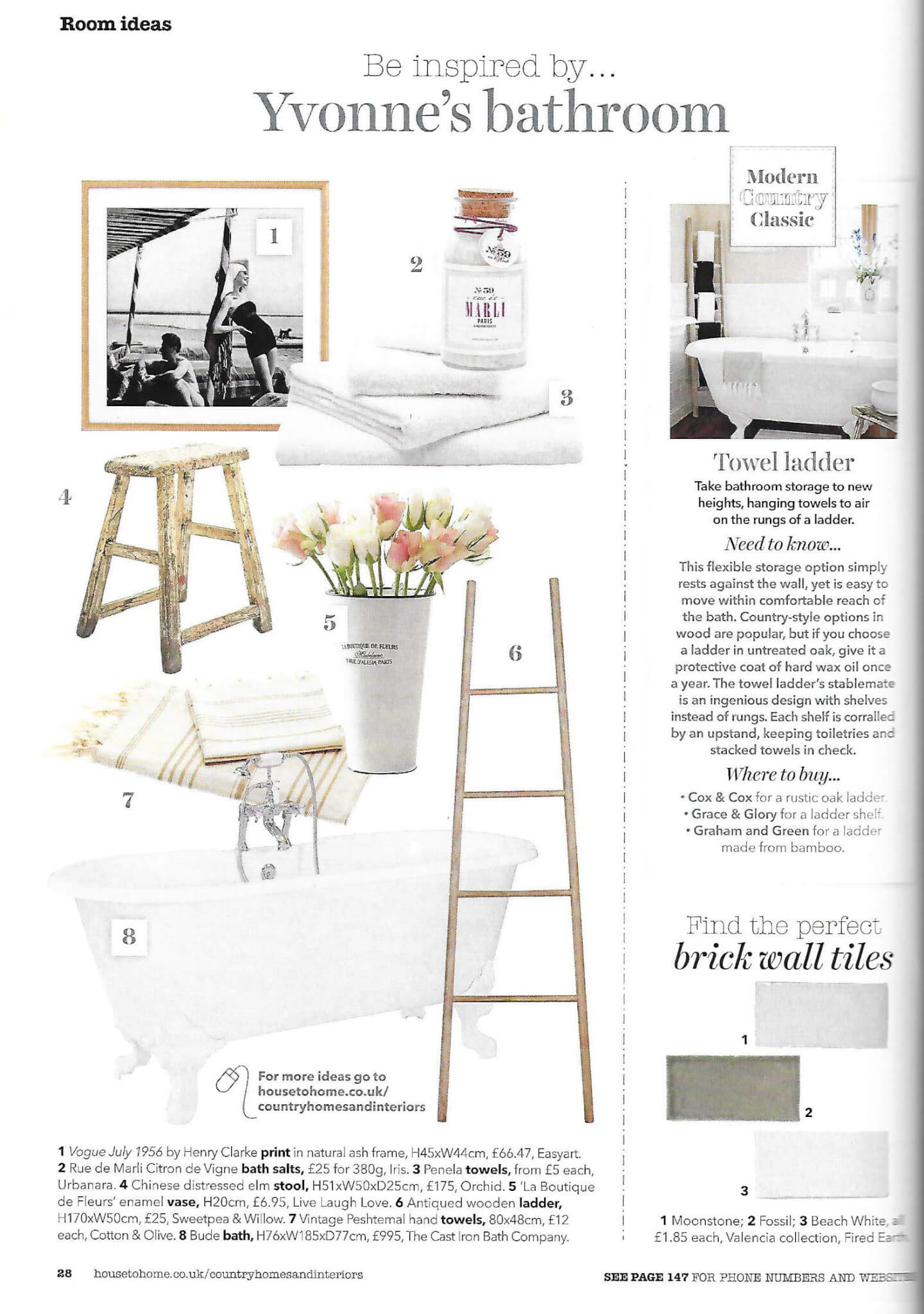 Country Homes and Interiors Magazine May 2015