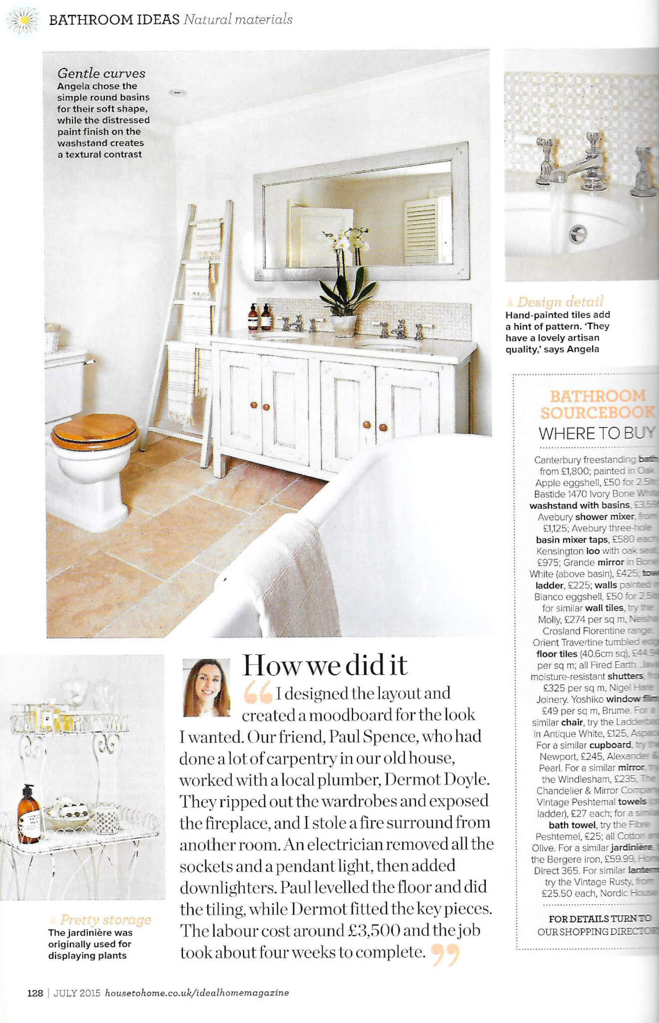Ideal Home magazine July 2015