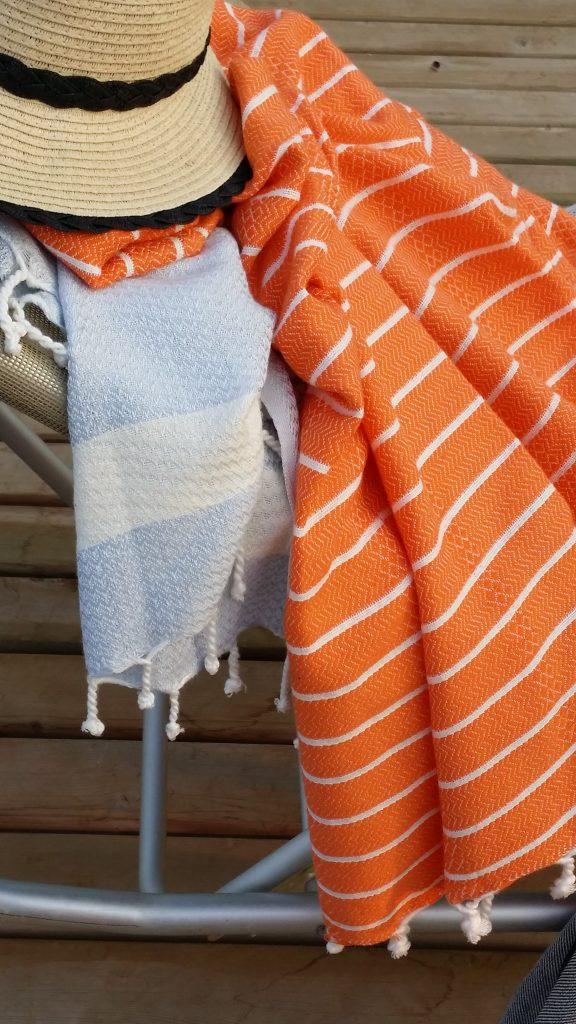 Exquisite bamboo peshtemal towels