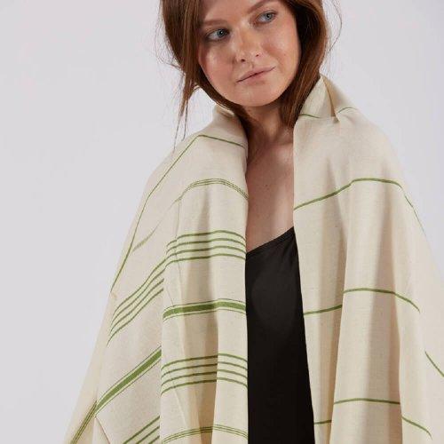 Cotton Hammam Towel, Green