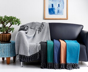 Cotton Bedspreads and Throws