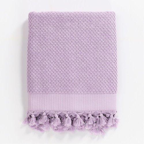 Turkish Cotton Bath Towel, Lilac