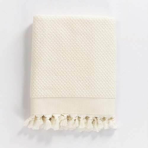 Turkish Cotton Bath Towel, Off White