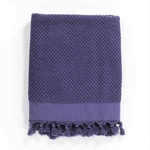 Turkish Cotton Bath Towel, Purple
