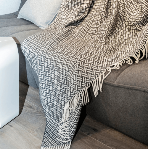 Loop Wool Throw, Antracite