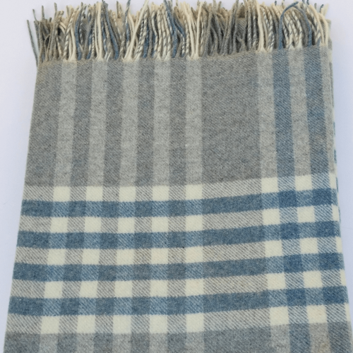 Plush Cashmere Wool Blended Throw