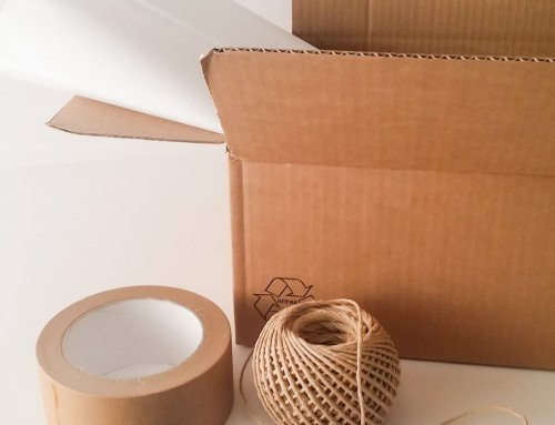 Plastic-free shipping has arrived to Cotton and Olive