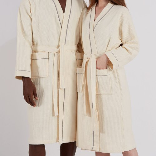 Cotton Unisex Bathrobe
