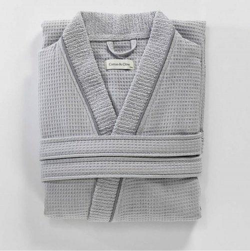cotton unisex bathrobe