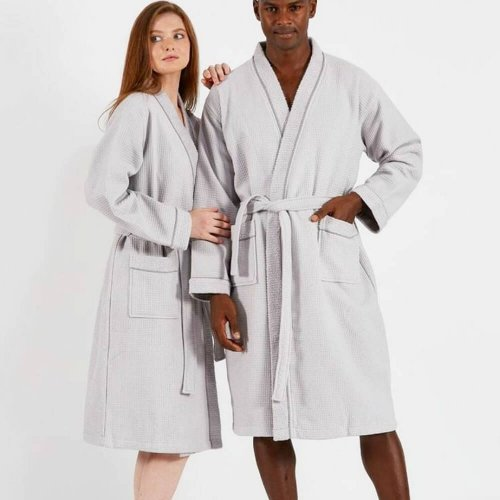 cotton unisex robe