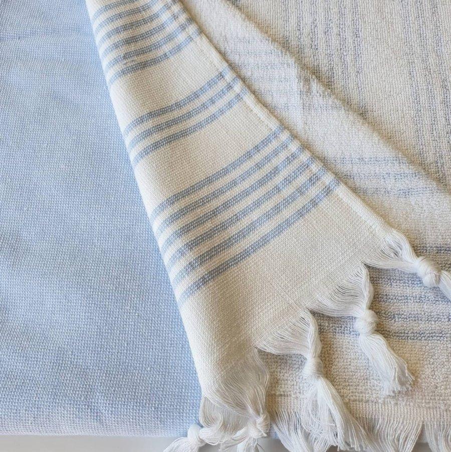 Meridien Cotton Bath Towel Taupe