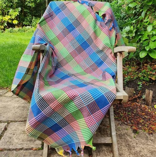 cotton picnic blanket