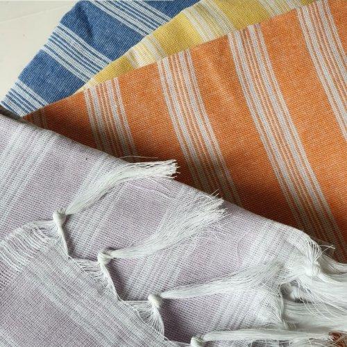Lightweight cotton hammam towel