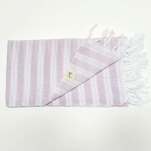 Lightweight cotton hammam towel