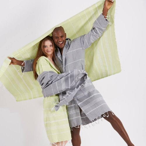 Unisex Cotton Bathrobe