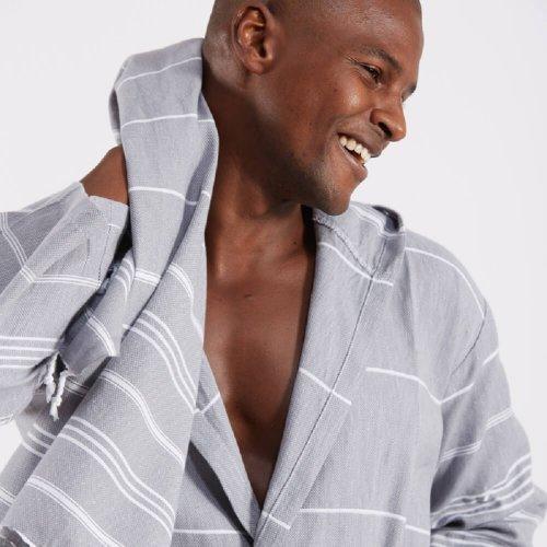 unisex cotton bathrobe