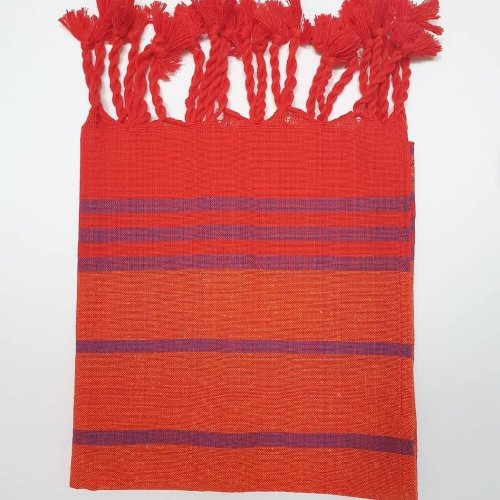 Hammam Hand Towel, Orange
