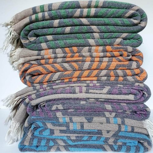 Cotton Jacquard Throws