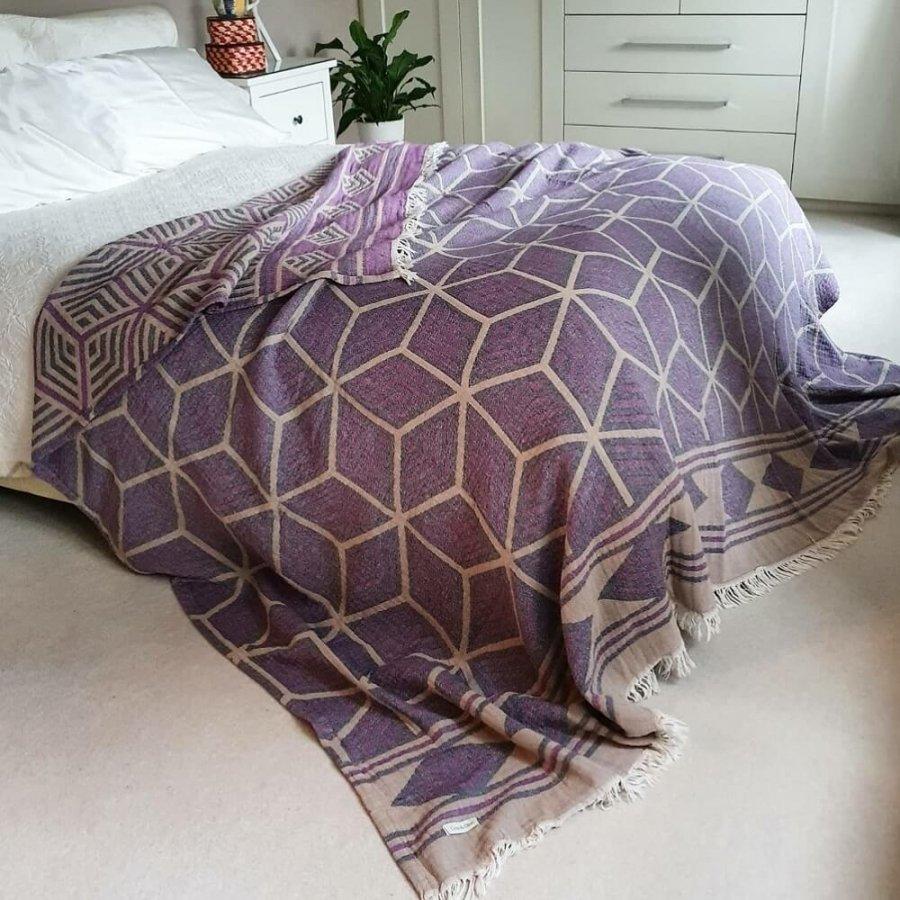 Cotton Jacquard Bedspread