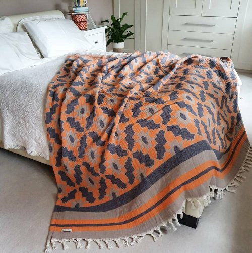 Cotton Jacquard Bedspread
